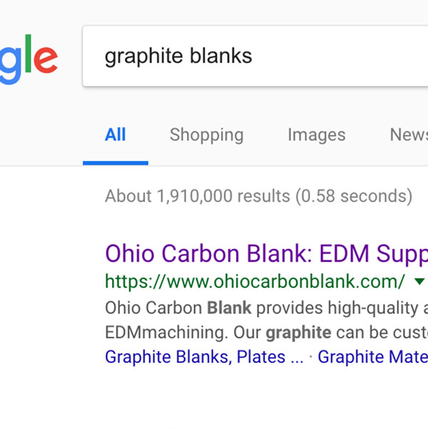 Ohio Carbon Blank Search Engine Optimization